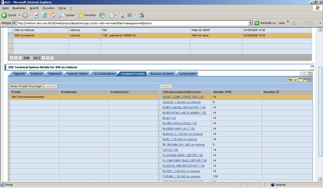SLES10SP1_x64_Athlon_X2_5600_SLD_ABAP_JAVA_STACK_Software